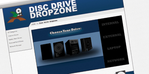 Disc Drive Dropzone