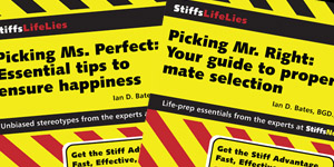 StiffsNotes: Life Lies – Book series and website
